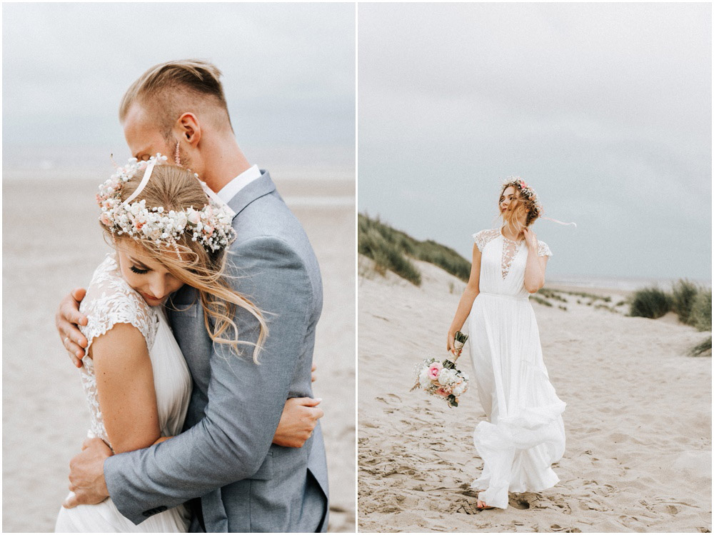 Beach wedding Netherlands