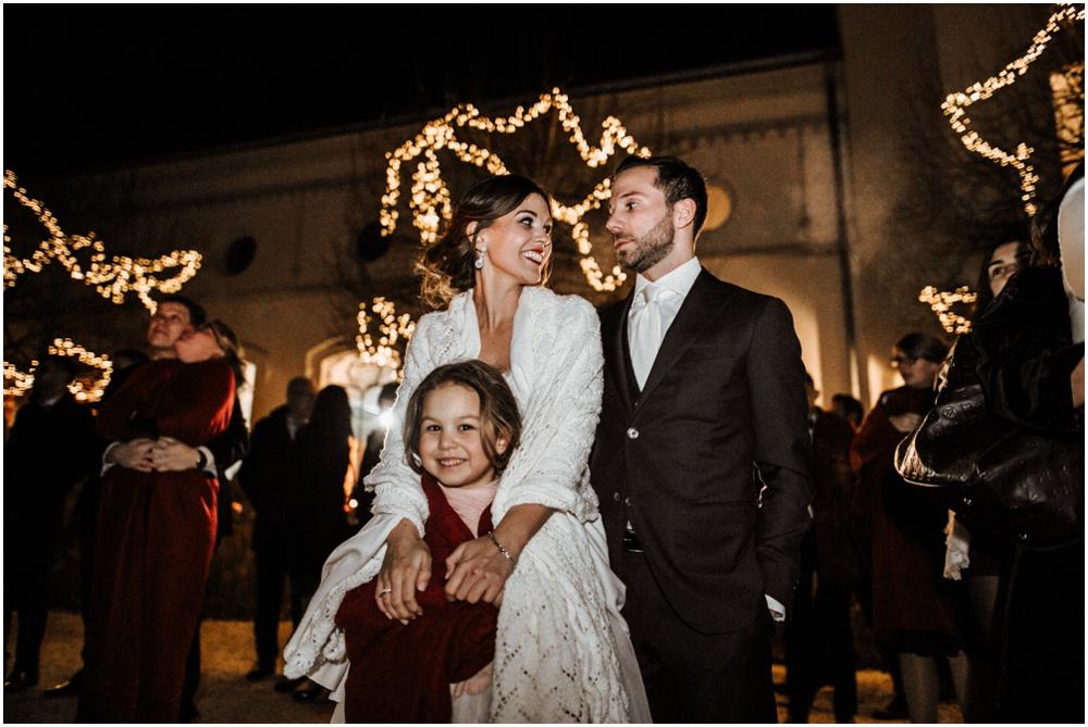 Glamorous castle wedding