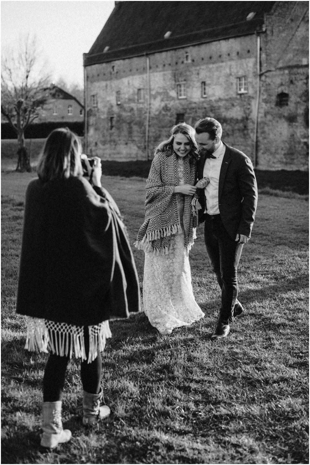 Boho-Hochzeitsworkshop Schloss Diersford