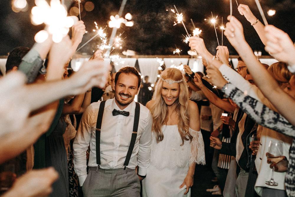 Boho beach wedding Greece
