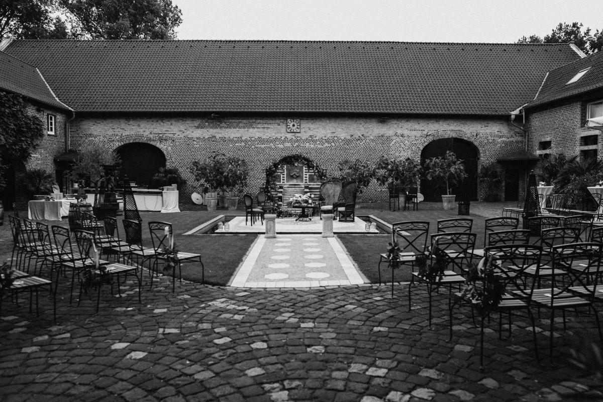 Castle wedding Germany
