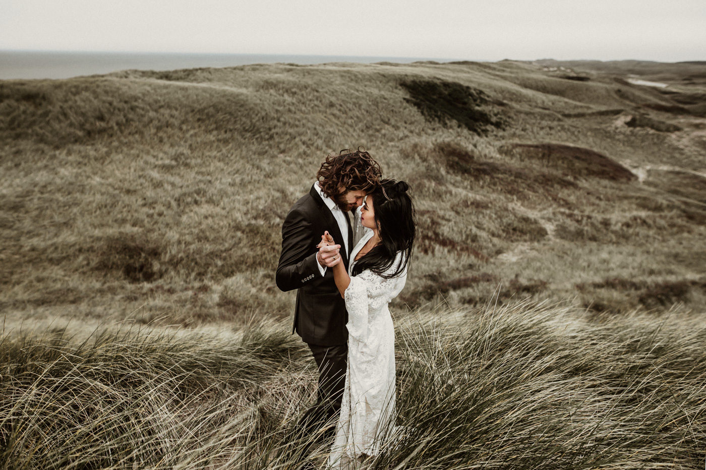 Strandhochzeit Holland Hochzeitsfotograf Holland Boho Hochzeit Holland 3