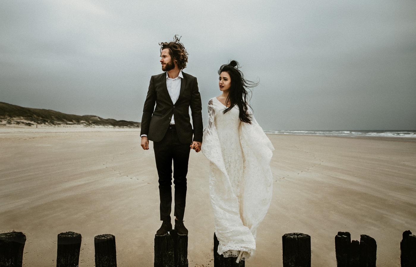 Strandhochzeit Holland Hochzeitsfotograf Holland Boho Hochzeit Holland 10