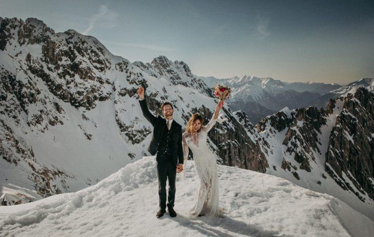 Berghochzeit in Innsbruck