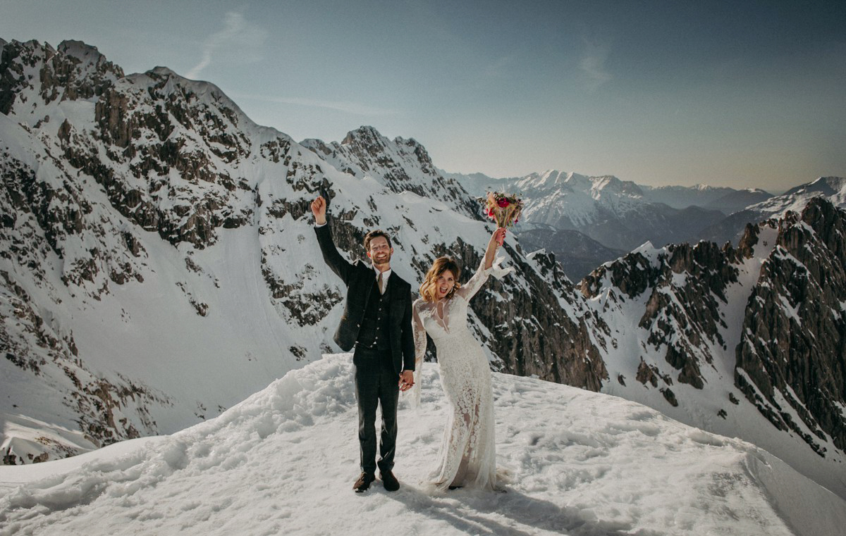 Mountainwedding in Innsbruck