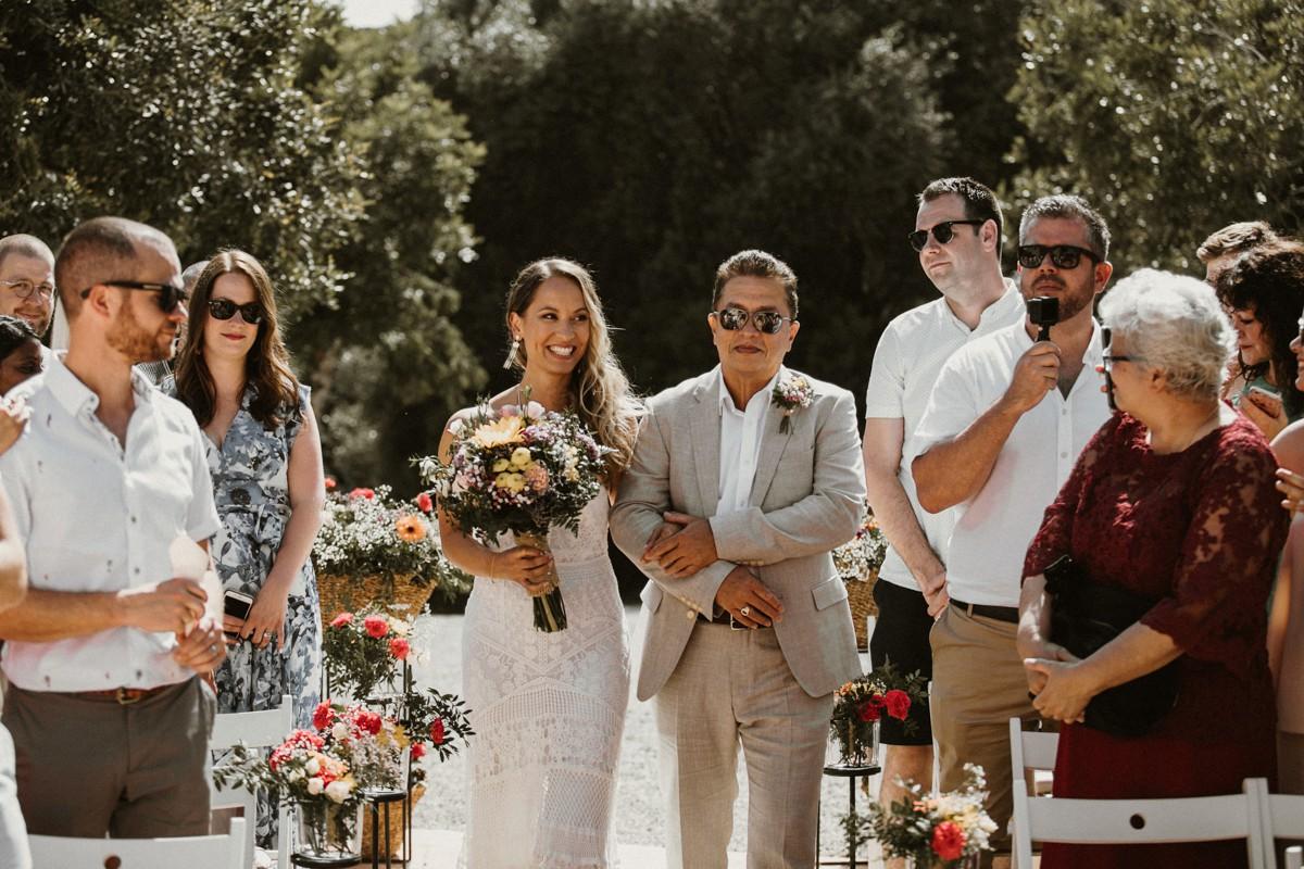 Festival Wedding in Barcelona