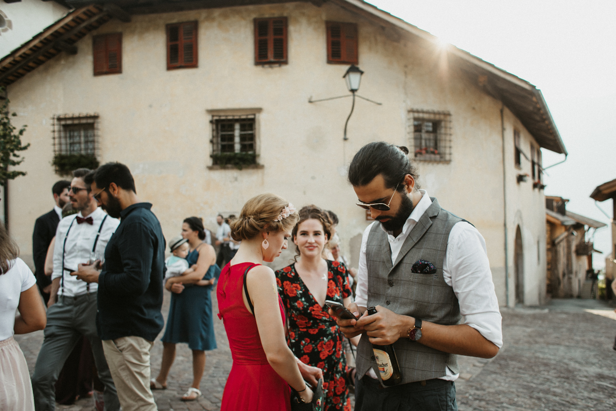 Boho-summerwedding in Italy