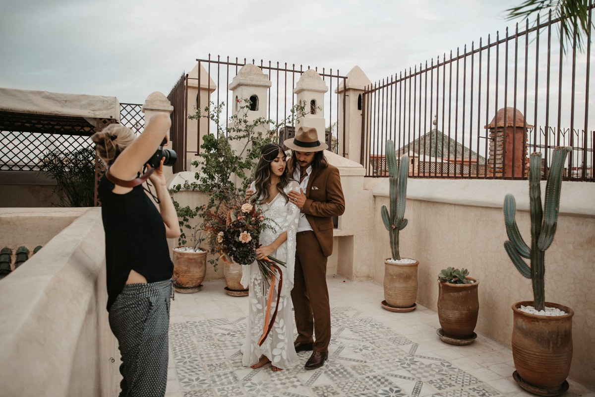 Wedding Photographer Marrakech - Workshop by Vicky Baumann
