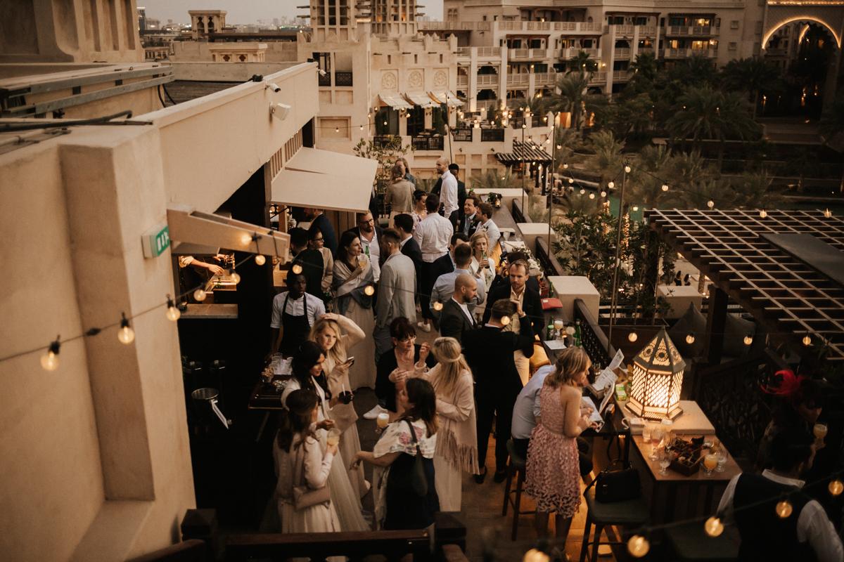 Boho-Glam Hochzeit in Dubai
