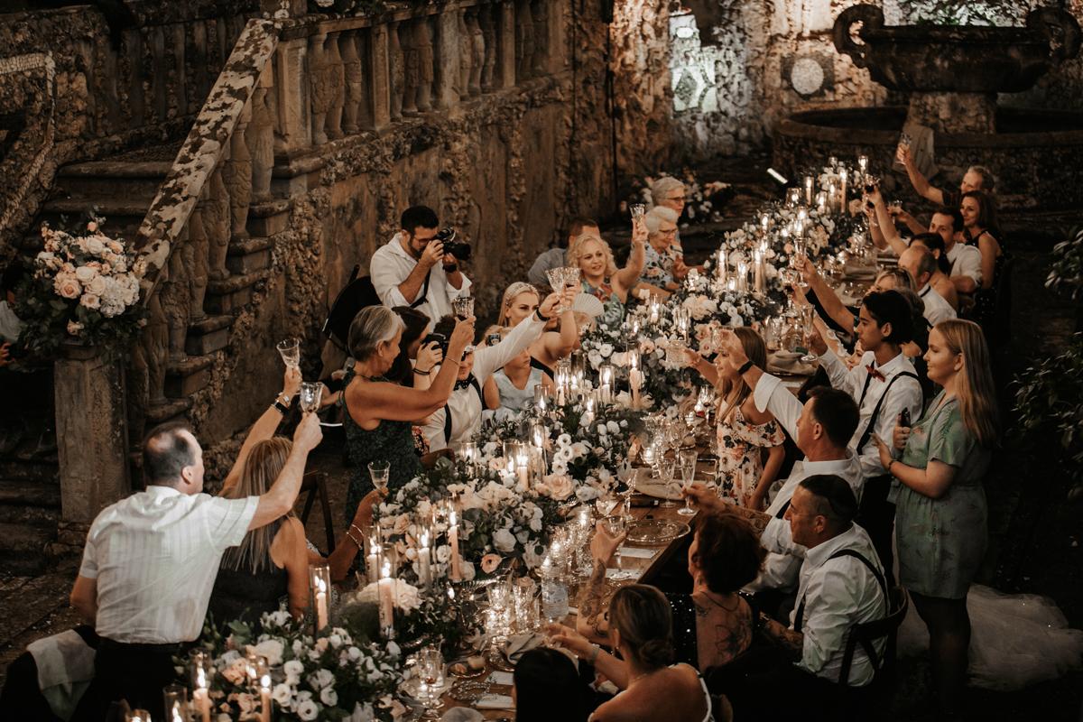 Glamorous Tuscany Wedding